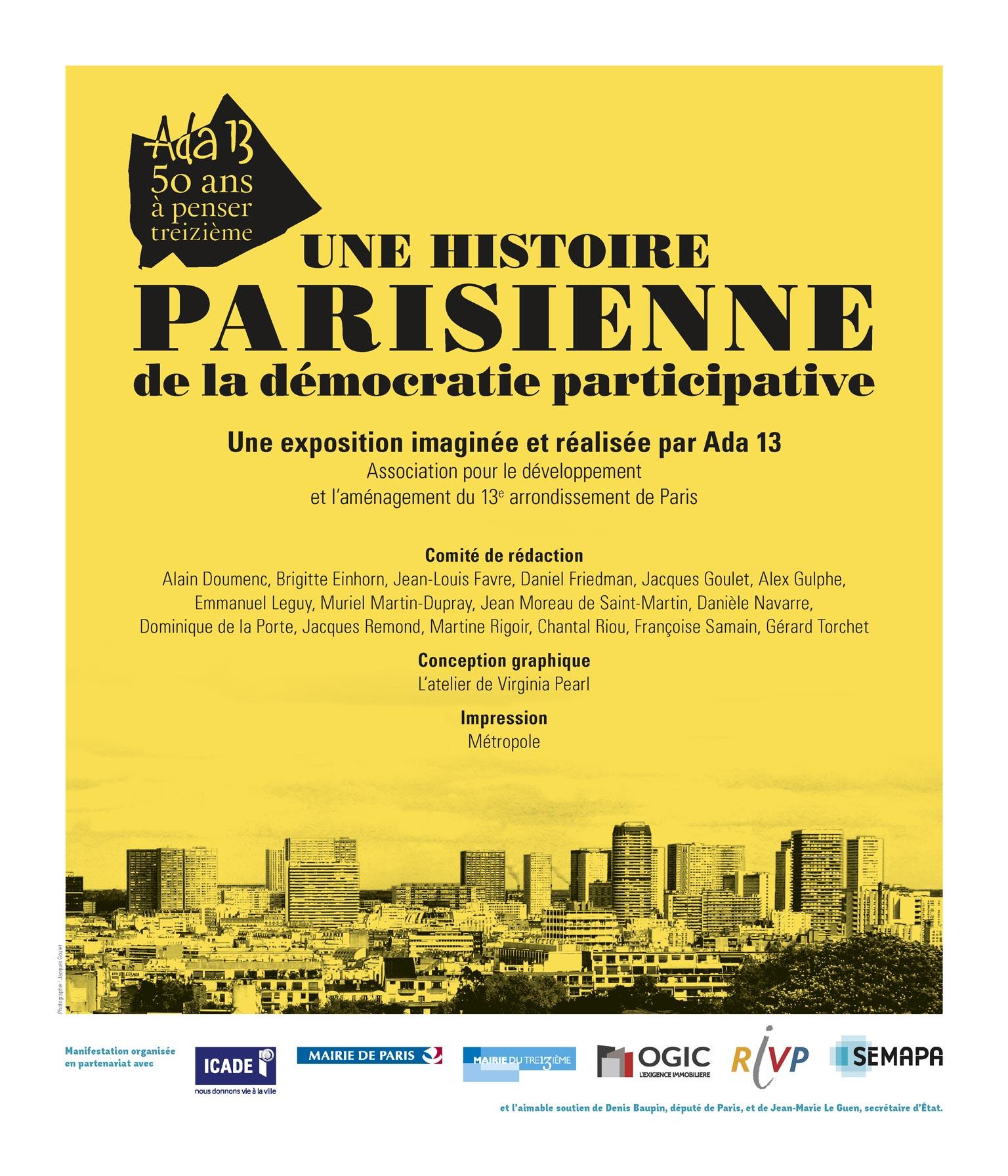 Panneau d'exposition | Une histoire parisienne de la démocratie participative