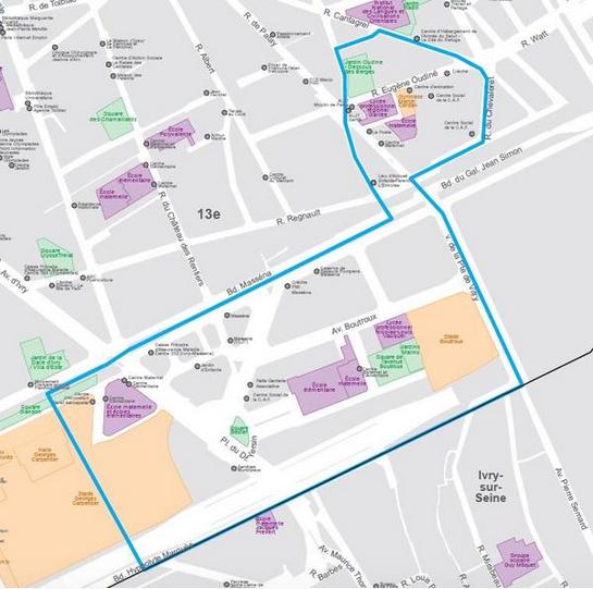 Le quartier Oudiné-Chevaleret va faire peau neuve : un projet de réaménagement construit avec les habitants